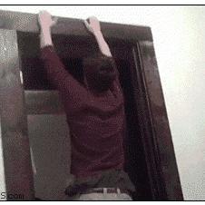 Door-frame-climbing-fail