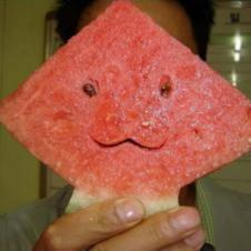 수박 얼굴