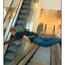 Escalator-planking-fail