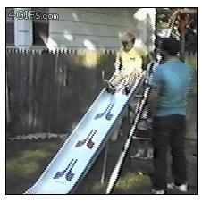 Child-slide-fail