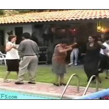 Dancing-pool-fall