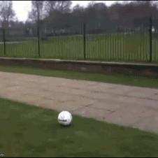 Ball-kicking-karma