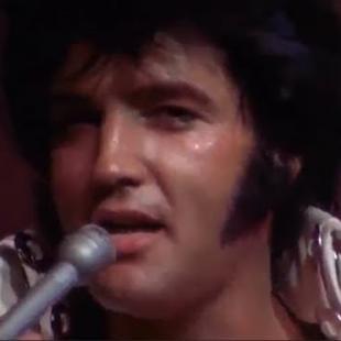 Elvis Presley - Suspicious Minds Live in Las Vegas