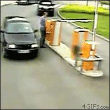Parking-barrier-gate-clotheslined